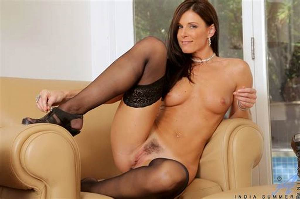 #India #Summer #In #Black #Stockings #Shows #Her #Sexy #Body #And