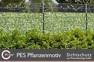 Sichtschutzstreifen Zum Einflechten : streifen zum einflechten zaunblenden mit pflanzen motiven ~ Michelbontemps.com Haus und Dekorationen