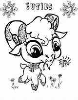 Goat Coloring Eyed Animal Drawing Mountain Goats Printable Getcolorings Sheets Colorings Getdrawings sketch template