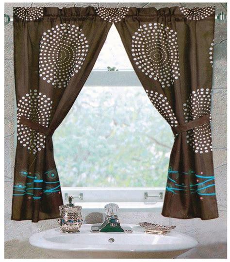 ideas for bathroom window curtains tips ideas for choosing bathroom window curtains with