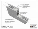 02.010.1302: Control Joint - Grout fill | Construcción | Pinterest | Grout, Design and Tools