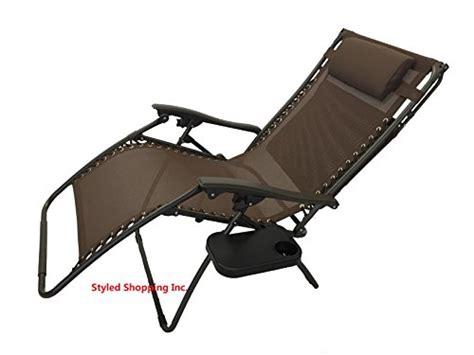 wide oversized brown zero gravity chair with canopy