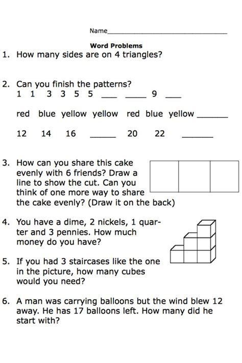 Printable Secondgrade Math Word Problem Worksheets