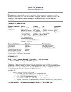 information security resume objective resume sles u0026 exles resume