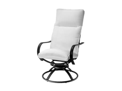 high back patio chair cushions stunning high back patio