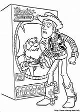 Stinky Pete Coloring Prospector sketch template