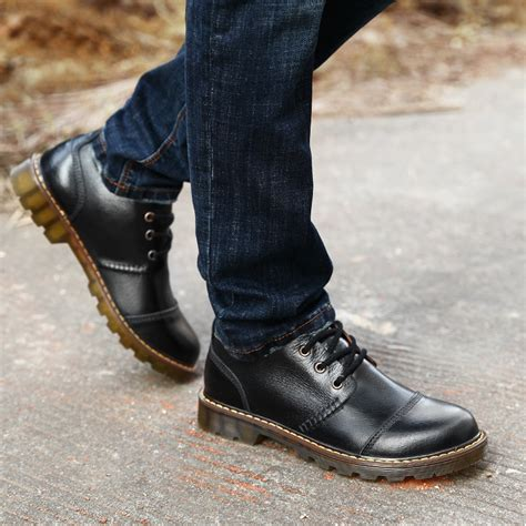 Spring Autumn Martin Boots Men Fashion Shoes