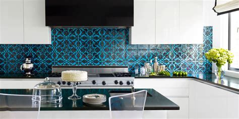 kitchen dado tiles farbiges r 252 cken einer k 252 che ideen top 1063