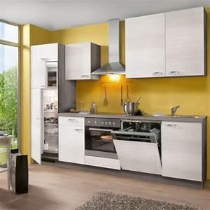 Küche 280 Cm : k che komplett mit elektroger te 280 cm stellmass ~ Markanthonyermac.com Haus und Dekorationen