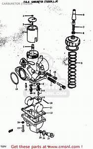 Suzuki Ts250 1973  K  Usa  E03  Carburetor  Ts250k
