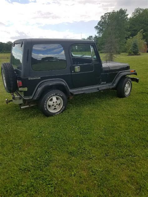 jeep gray wrangler gray 1988 jeep wrangler for sale