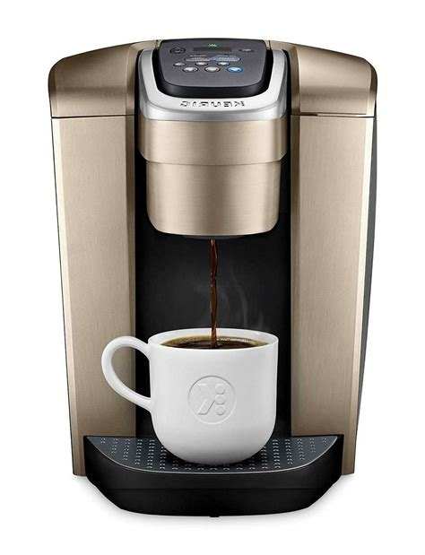 Overall, these time frames are much shorter than what is possible with the. Keurig K-Elite Coffee Maker Single Serve K-Cup Pod