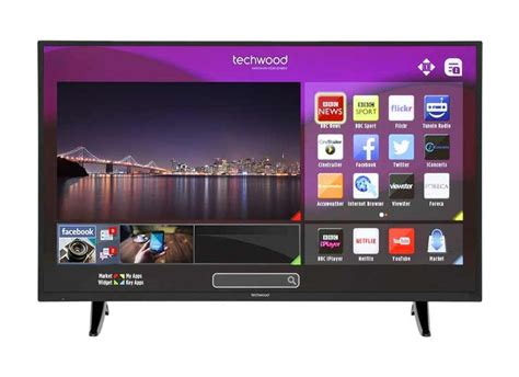 Techwood 49ao3sb 49 Inch Smart Full Hd Led Tv Built In