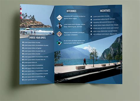 tourist brochure template free download 10 travel brochures sle templates