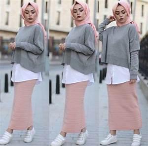 Tenue Tendance Femme : pin by sarah moursy on hijab fashion mode hijab hijab style mode hidjab ~ Melissatoandfro.com Idées de Décoration