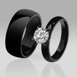 anillos de compromiso negros  chicas  buen gusto