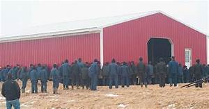 Watch 250 Amish Men Pick Up A Barn And Move It