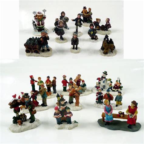 miniature village accessories lit house g wurm accessories winter miniatures 7 cm ebay
