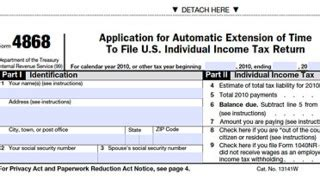 printable irs form 4868 income tax extension tax year 2017 for filing in 2018 tax season