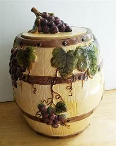 Pacific, Rim, Grape, Cookie, Jar, U2013, Aunt, Gladys, U0026, 39, Attic