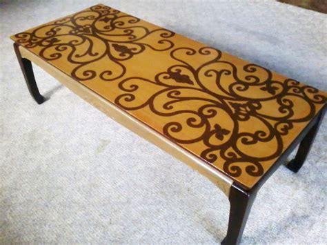 hand painted coffee table hand painted coffee table damlovely