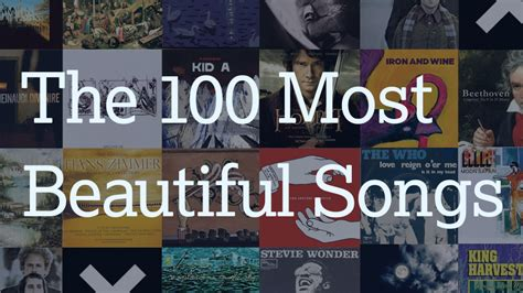 Best Song In The World by The 100 Most Beautiful Songs In The World According To Reddit
