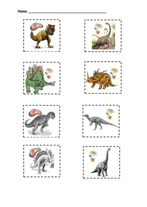 dinosaur sorting activity  queenpriscilla teaching