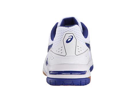 asics volleybollskor herr asics gel rocket 7 vita blå