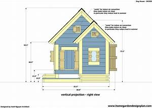 Home garden plans dh300 dog house plans free how to for Dog house construction plans