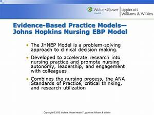 Chapter 12 Evidence-Based Practice and Nursing Theory ...