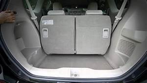 Honda Odyssey Rear Seat Fold