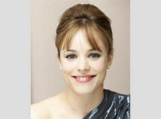 Rachel McAdams Long Straight Formal Updo Hairstyle with
