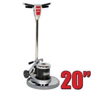 clarke cfp 200 floor buffer polisher machine 20 inch pad unoclean