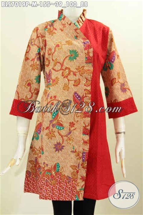 batik atasan bolero blus batik printing modis dan kekinian baju batik atasan