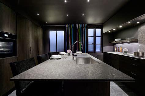 plan de cuisine moderne avec ilot central cuisine quipe avec ilot meubles de cuisine finition