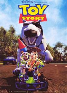 The Geeky Nerfherder: Movie Poster Art: Toy Story (1995)