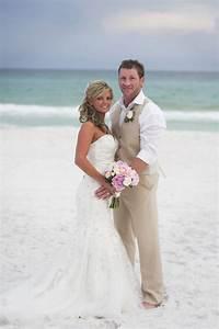 best 25 beach wedding groom attire ideas on pinterest With wedding dresses destin fl