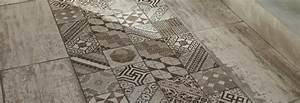 Sol Pvc Carreau De Ciment : les motifs carreaux de ciment de lapeyre le cachet et l harmonie ~ Nature-et-papiers.com Idées de Décoration