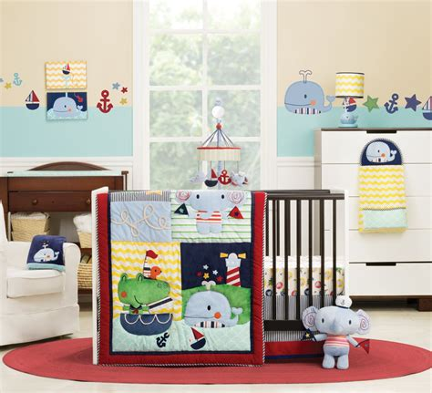 Kidsline Crib Bedding by Kidsline Sail Away Baby Bedding Baby Bedding And Accessories