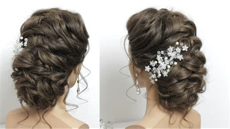 hair styles for longer hair beautiful bridal hairstyle for hair style 1677