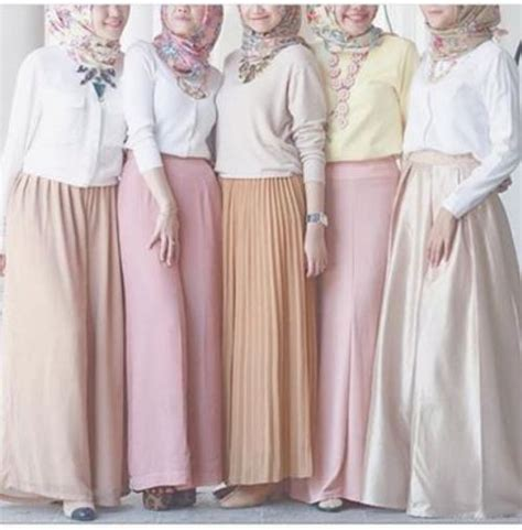 Maxi Jupes Chic Hijab Trendy Girls