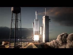 Falcon Heavy | Flight Animation : spacex