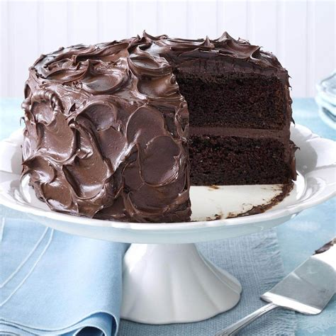 cake chocolate recipe recipes desserts mama come taste tasteofhome decadent cakes lovers ever pudding cocoa devil half most mix food