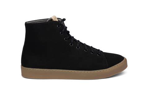 vegan sneaker ekn footwear oak high black avesu vegan