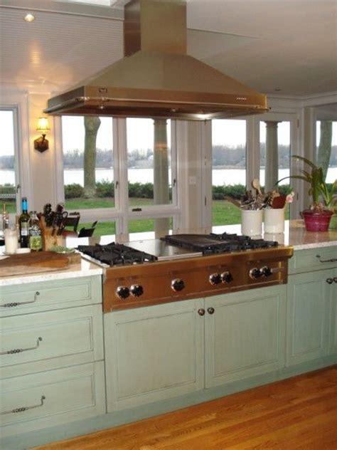 kitchen island with range island cooktop island wolf range top remodel