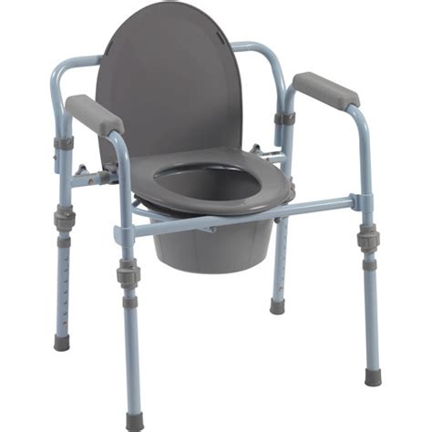 Portable Potty Chair Walmart by Drive Folding Bedside Commode With And