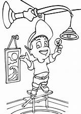 Electricity Coloring Pages Coloringway sketch template