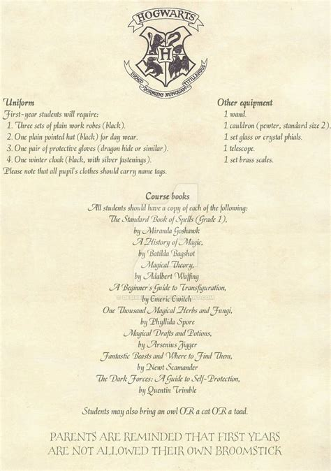 hogwarts acceptance letter english   desiredwings