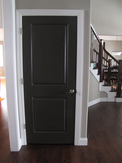 interior doors for home the ideas for painting interior doors black above is used