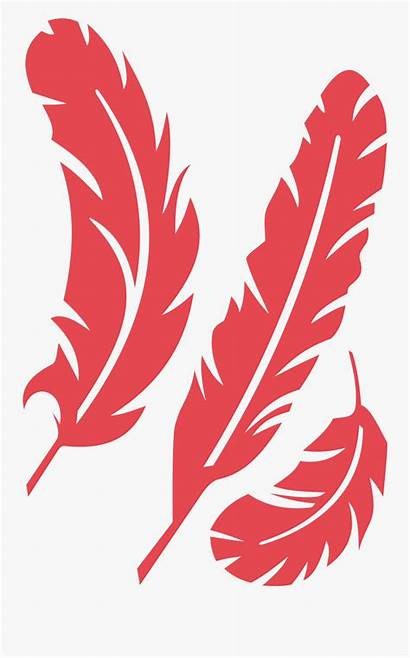 Feather Clipart Feathers Clip Svg Cardinal Leaf